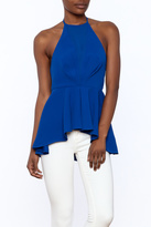 Do & Be Royal Blue Halter Top