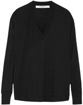 Givenchy Wool And Silk-blend Sweater In Black - x small
