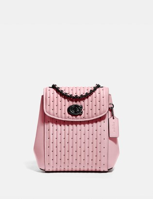 Coach Parker Convertible Backpack 16 With Quilting And Rivets