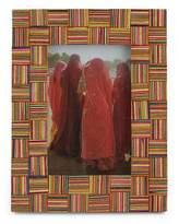 Wood photo frame (4x6), 'Woven Fantasy'