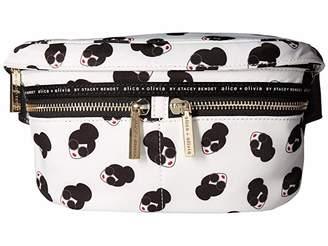 Alice + Olivia Gracie Staceface Nylon Belt Bag (Multi) Wallet