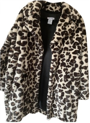 Sonia Rykiel Sonia By Beige Faux fur Coat for Women