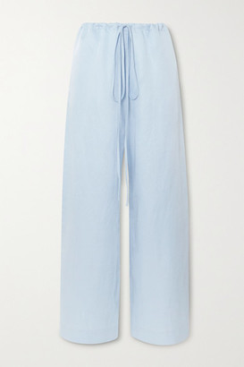 BONDI BORN Woven Pants - Light blue