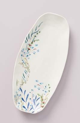 Anthropologie Home Home Seasonally Good Oval Platter