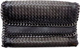 OLIVIA MILLER Olivia Miller Whitney Large Woven Zip-Trim Clutch