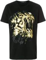 Billionaire lion print T-shirt