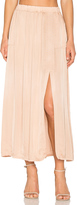Raquel Allegra Ribbon Midi Skirt