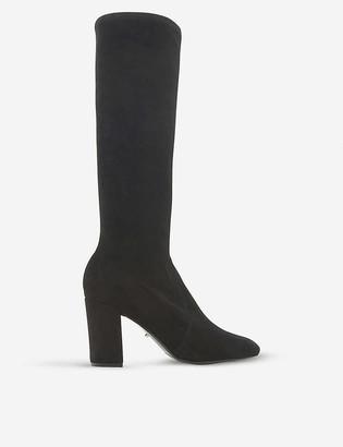 Dune Sereinity suede sock boots