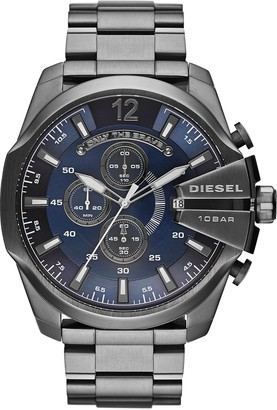 Diesel Mens Analogue Quartz Watch with Stainless Steel Strap DZ4329