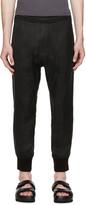 Neil Barrett Black Lounge Trousers