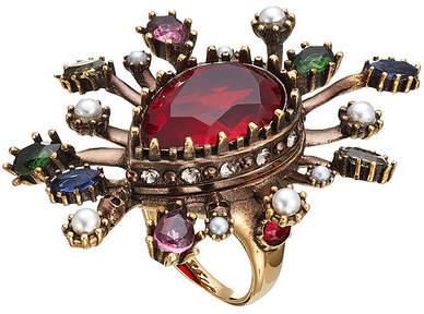 Alexander McQueen Embellished Ring