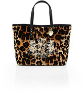 Juicy Couture Girl's Velour Leopard Print Pammy Tote Bag