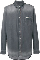 Philipp Plein faded denim shirt