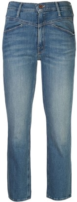 Mother Dazzler yoke front jeans