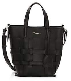 3.1 Phillip Lim Women's Mini Odita Modern Lattice Leather Bucket Bag