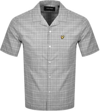 Lyle & Scott Resort Short Sleeve Shirt Grey