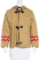 Peter Jensen Coated Long Sleeve Jacket
