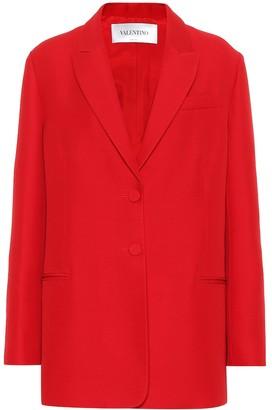 Valentino Cady wool and silk blazer