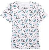 Kid Dangerous Boy's Geo Print T-Shirt