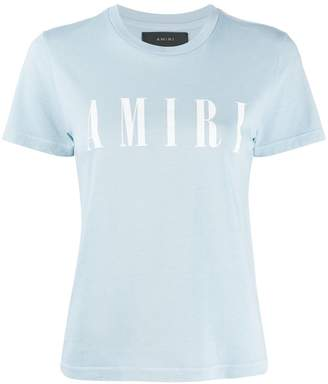 Amiri logo-print slim-fit T-shirt