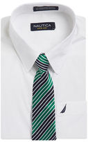 Nautica BOYS 8-20 Dress Shirt and Tie Set