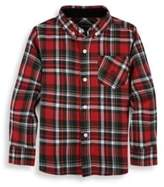 Andy & Evan Boy's Cotton Collared Shirt