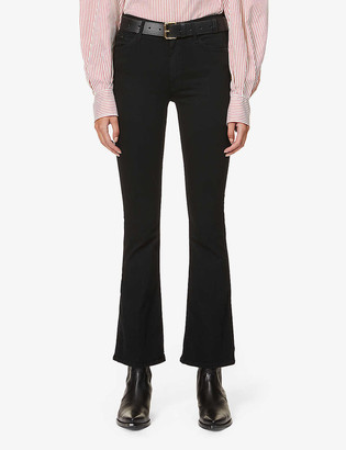 Mother The Weekender slim-fit mid-rise jeans