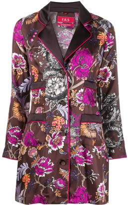 F.R.S For Restless Sleepers Floral Kimono Shirt