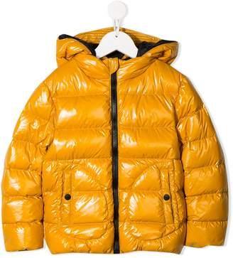Herno zipped hooded coat