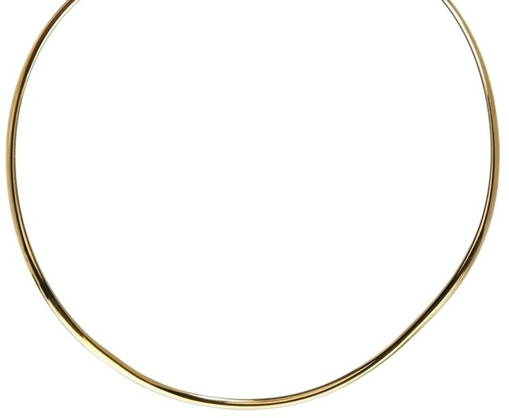 MANGO Fine Curve Torq Necklace
