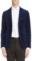 Lanvin Men's Extra Slim Fit Velvet Jacket