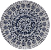 Maxwell & Williams Blue Antico 36.5cm Round Platter Gift Boxed