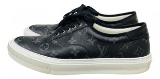Louis Vuitton Trocadero Black Cloth Trainers