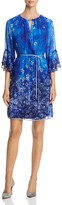 T Tahari Amber Bell-Sleeve Dress