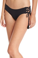 MICHAEL Michael Kors Lace-Up Side-Tie Swim Bottom