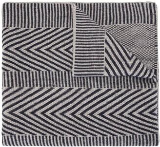 Voz Chevron Knitted Scarf