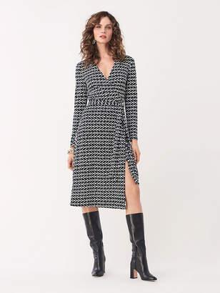 Diane von Furstenberg T/73 Silk-Jersey Midi Wrap Dress