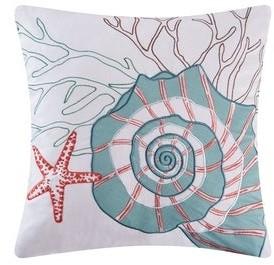 C&F Home Nautilus Applique 18 Inch Throw Decorative Accent Throw Pillow