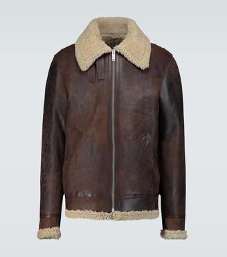 Golden Goose Arvel shearling leather jacket