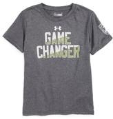 Under Armour Toddler Boy's Game Changer Graphic Heatgear T-Shirt