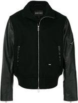 Emporio Armani - panelled bomber jacket