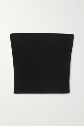 Stella McCartney Stretch-knit Bandeau Top - Black