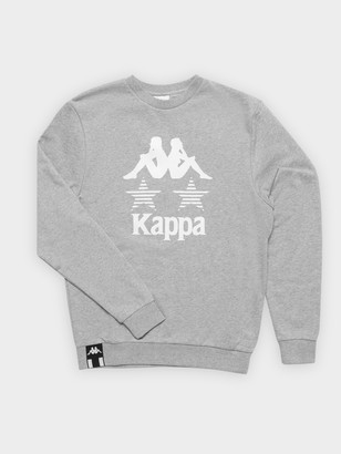 Kappa Authentic La Clarsya Crew Jumper in Grey