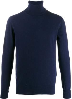 Ballantyne roll neck knit jumper