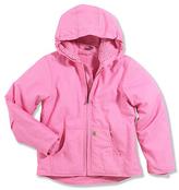 Carhartt Redwood Fleece Lined Zip-Up Jacket - Girls