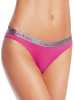 Calvin Klein Radiant Cotton Thong #QD3539