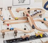 Pottery Barn Kids Wood Play City Train Track Set - Cars