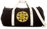 Mitchell & Ness Bruins Washed Canvas Duffle Bag