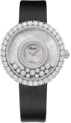 Chopard White Gold and Diamond Happy Dreams Watch 37.7mm