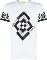 Versace Jeans Geo Print Crew Neck T-shirt